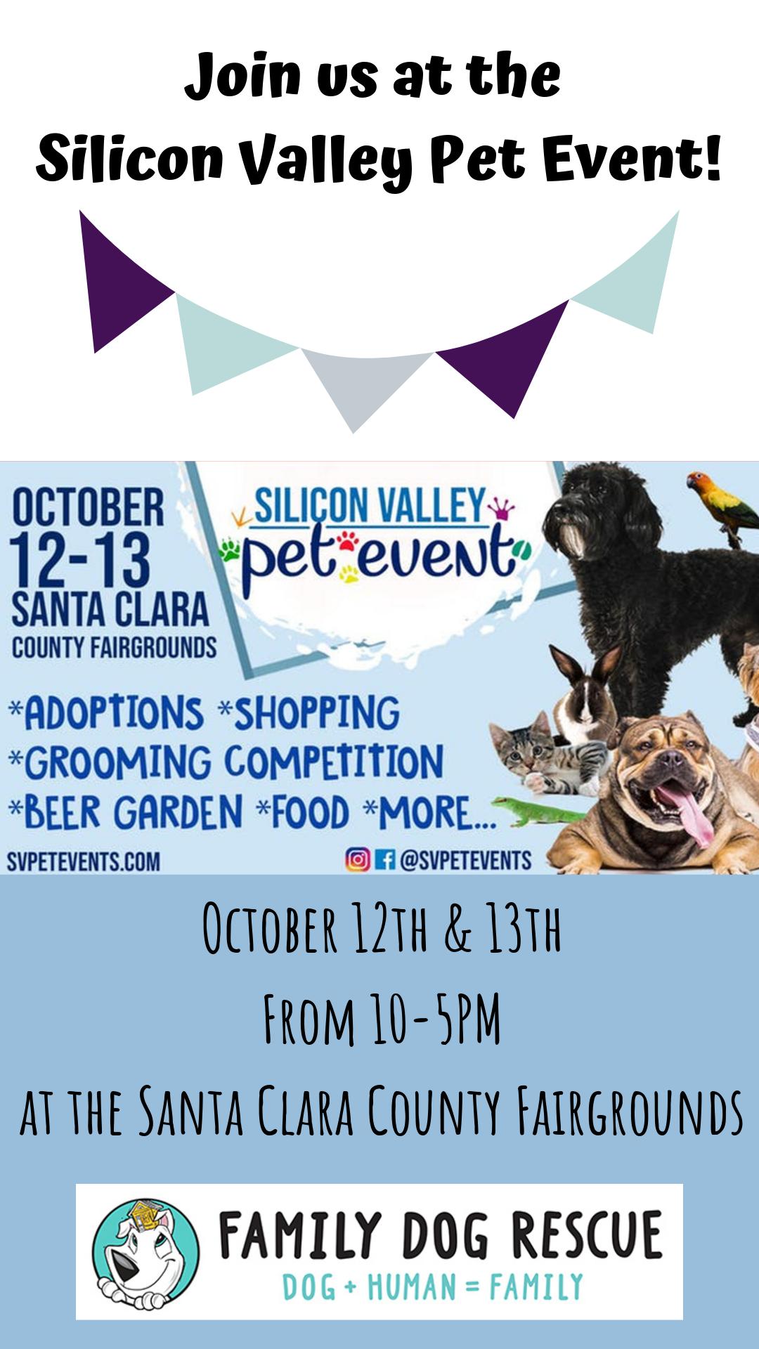 Silicon Valley Pet Event @ Santa Clara County Fairgrounds